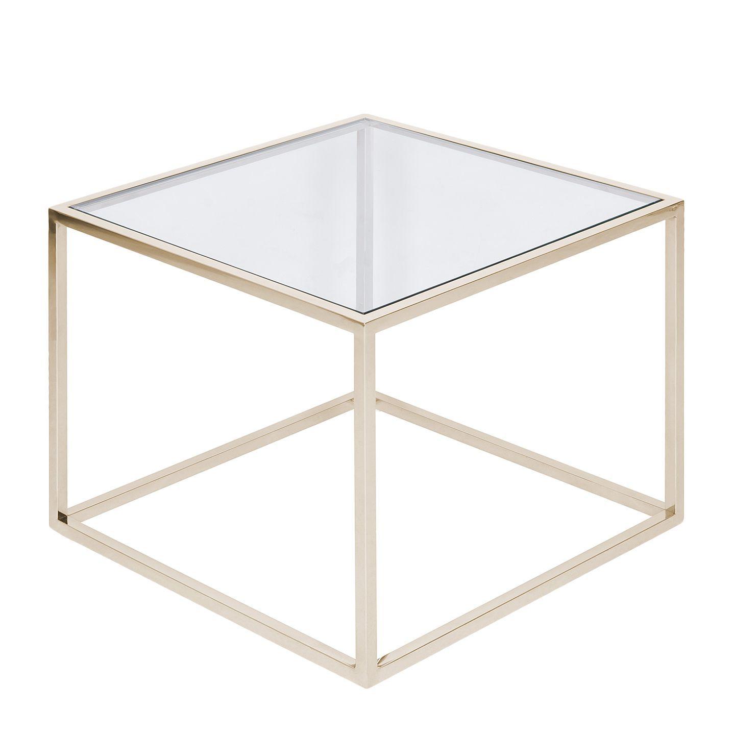 78 Ideal Beistelltisch Glas