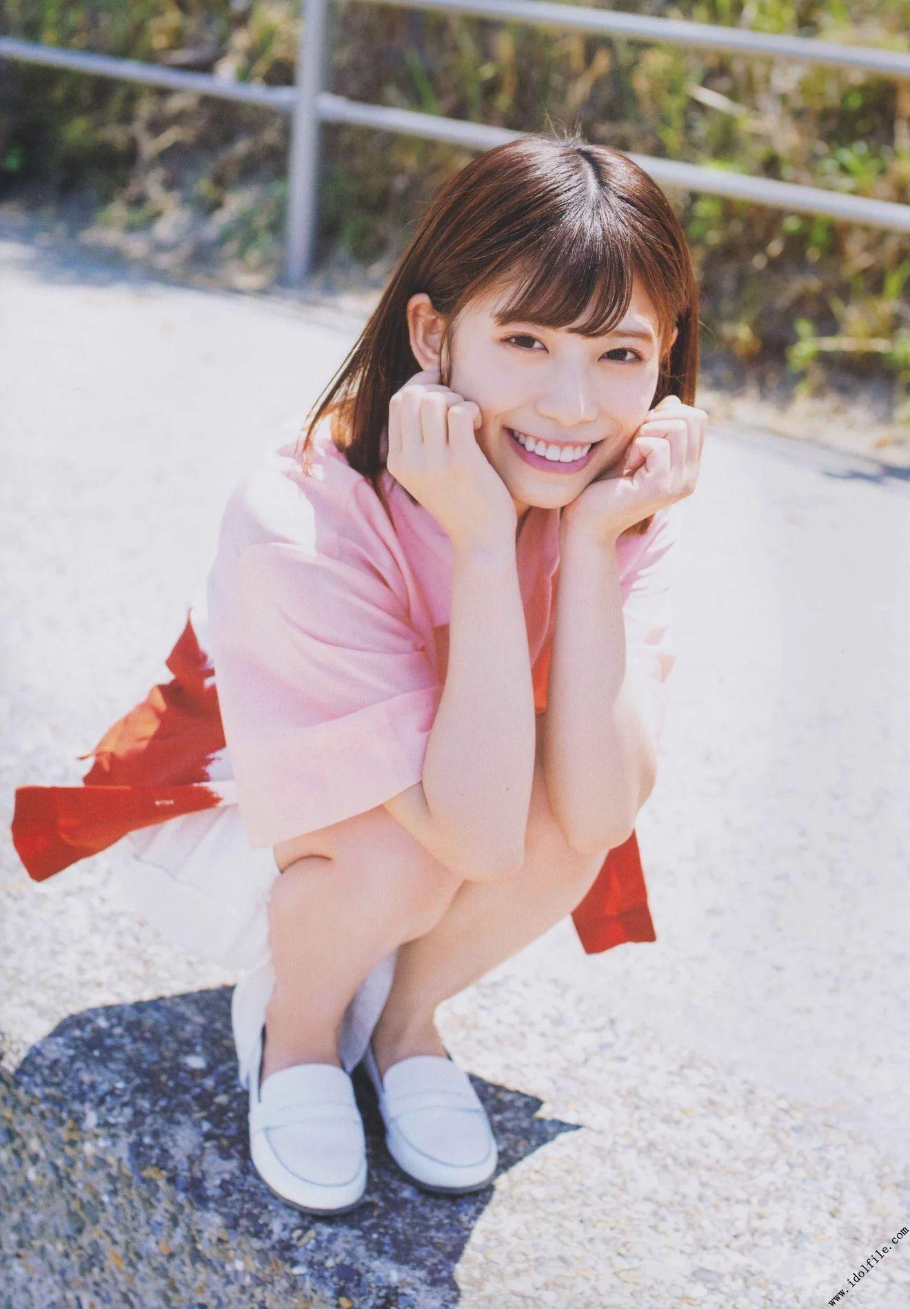 欅坂46長濱ねるちゃんの眩しく輝くグラビア画像! - AKBと坂道の