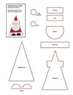 santa paper template