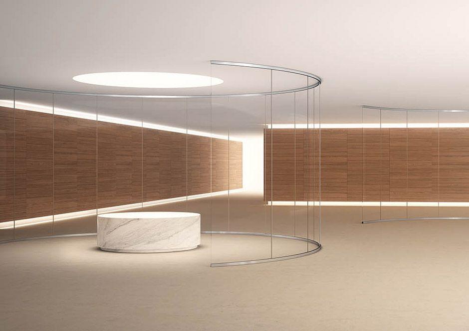 Truelight tl41 vetro in leader arredo ufficio in vetro for Design d interni