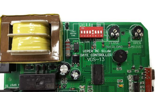 Gate1® Guide on How to Program the DIP Switches on the Control Board 1000 gate operator