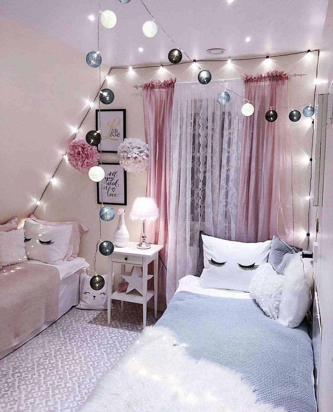 1 2 3 Or 4 Leave Your Comment Tag Your Besties Follow Artcorect Via Creativesp In 2020 Girl Bedroom Designs Bedroom Decor Girl Bedroom Decor