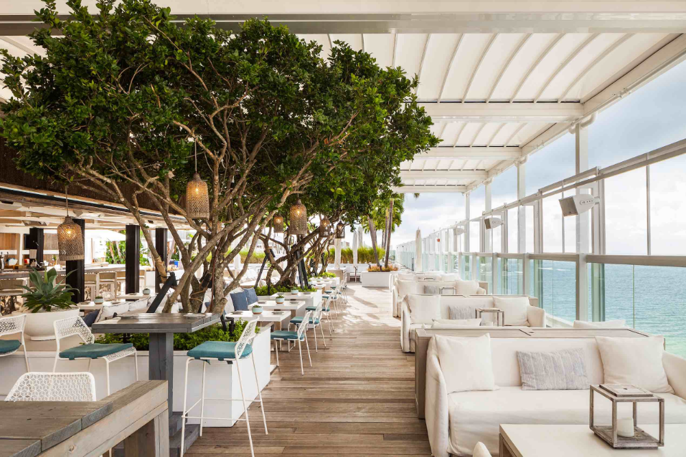 1 Hotel South Beach Rolls Out Exciting South Beach Hotels Rooftop Restaurant Fontainebleau Miami Beach