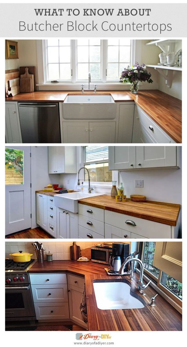 The Timeless Style Of Butcher Block Countertops Looks Great In