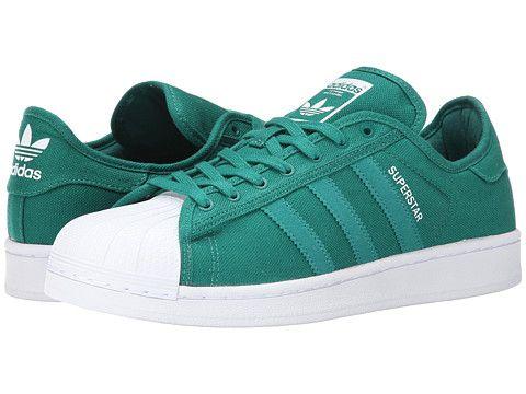 adidas superstar - verde / bianco originale festival