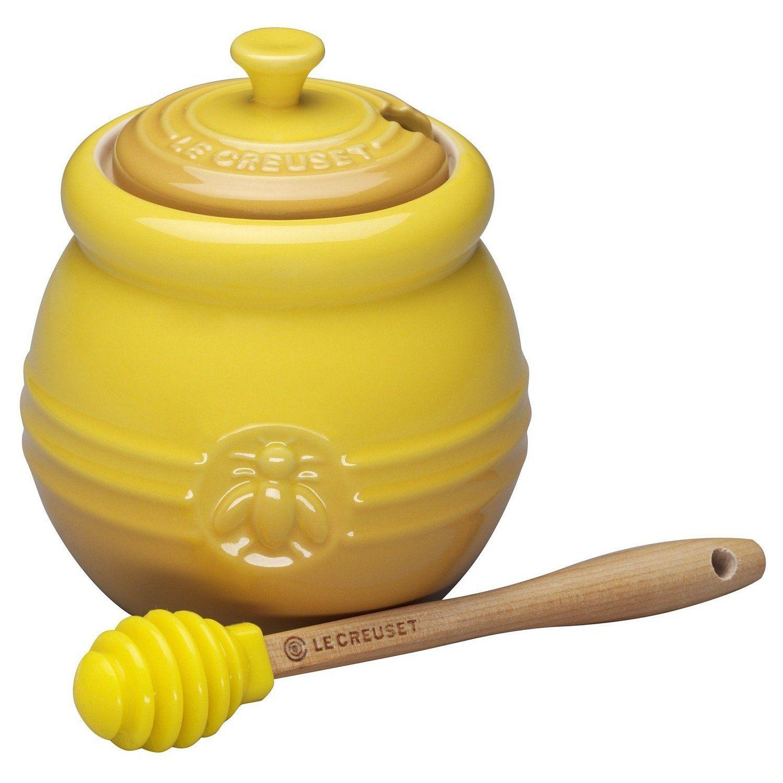 Le Creuset Stoneware 15 Ounce Honey Pot Dijon Barattoli Di Miele Barattoli Pentole