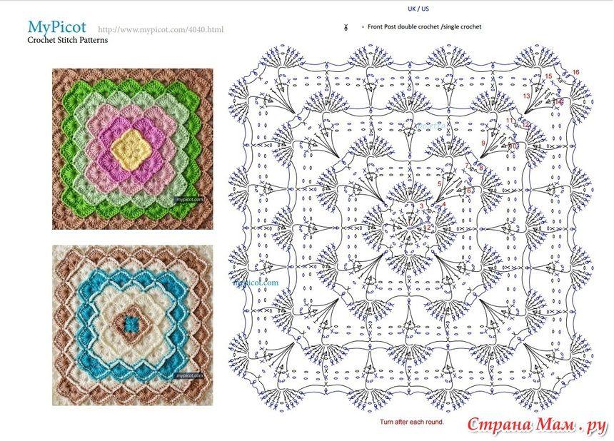 18695431_51825.jpg (860×618) | Patrones crochet | Pinterest | Patrón ...