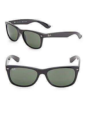 0fdda9f2728 Ray-Ban Wayfarer Sunglasses - Black - Size No Size