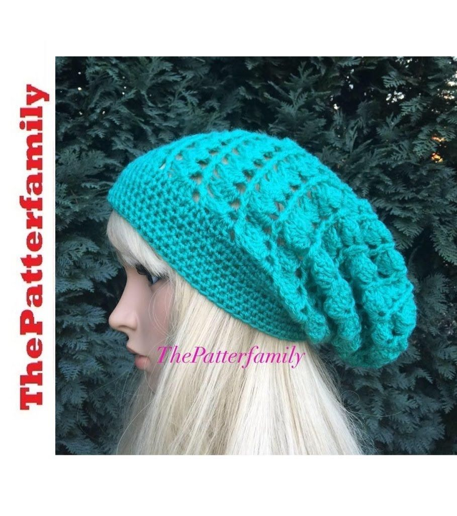 How To Crochet a Slouchy Hat Pattern #34│by ThePatterfamily ...