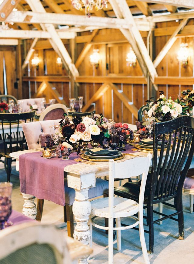 Bold Colourful Reception At Peace Barn By Paula Leduc Fine Catering
