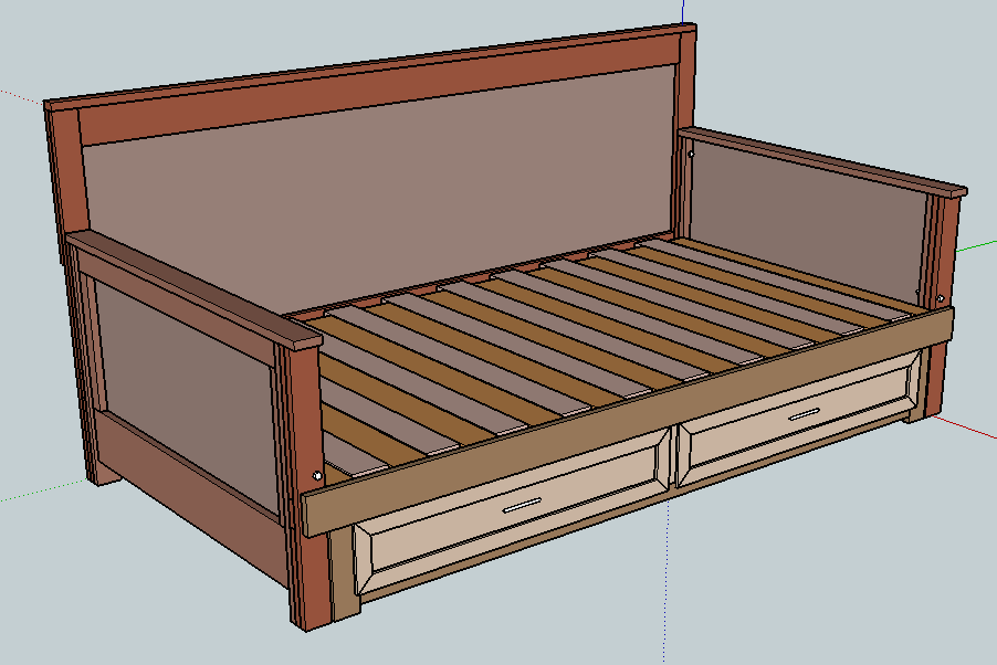 Daybed That Pulls Out To A Queen Size If I Ever Had
