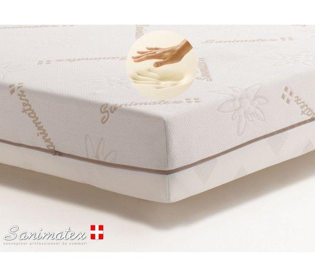 matelas helios de la marque suisse sanimatex m moire de forme sp cial maux de dos plus haute. Black Bedroom Furniture Sets. Home Design Ideas