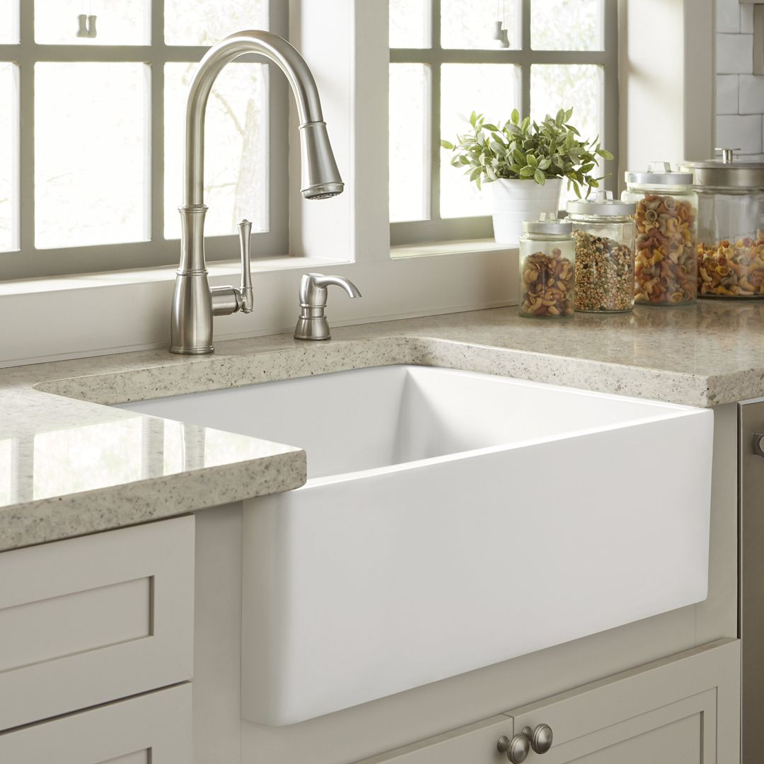 41++ Fireclay farm sink kitchen inspiration
