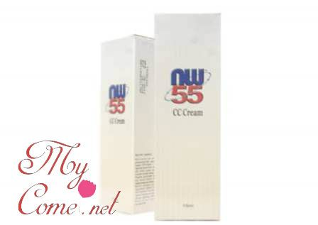 NW55 CC Cream bertindak sebagai agen pelembap dan pencerah ...