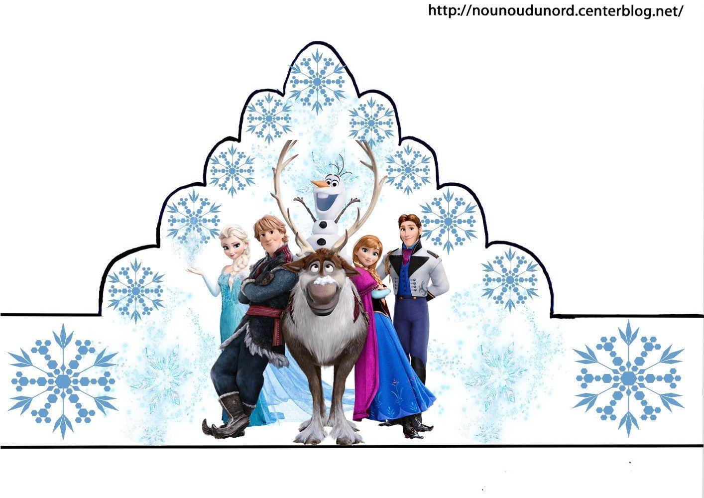 Piphanie voici mes couronnes reine des neiges cars - Imprimer reine des neiges ...