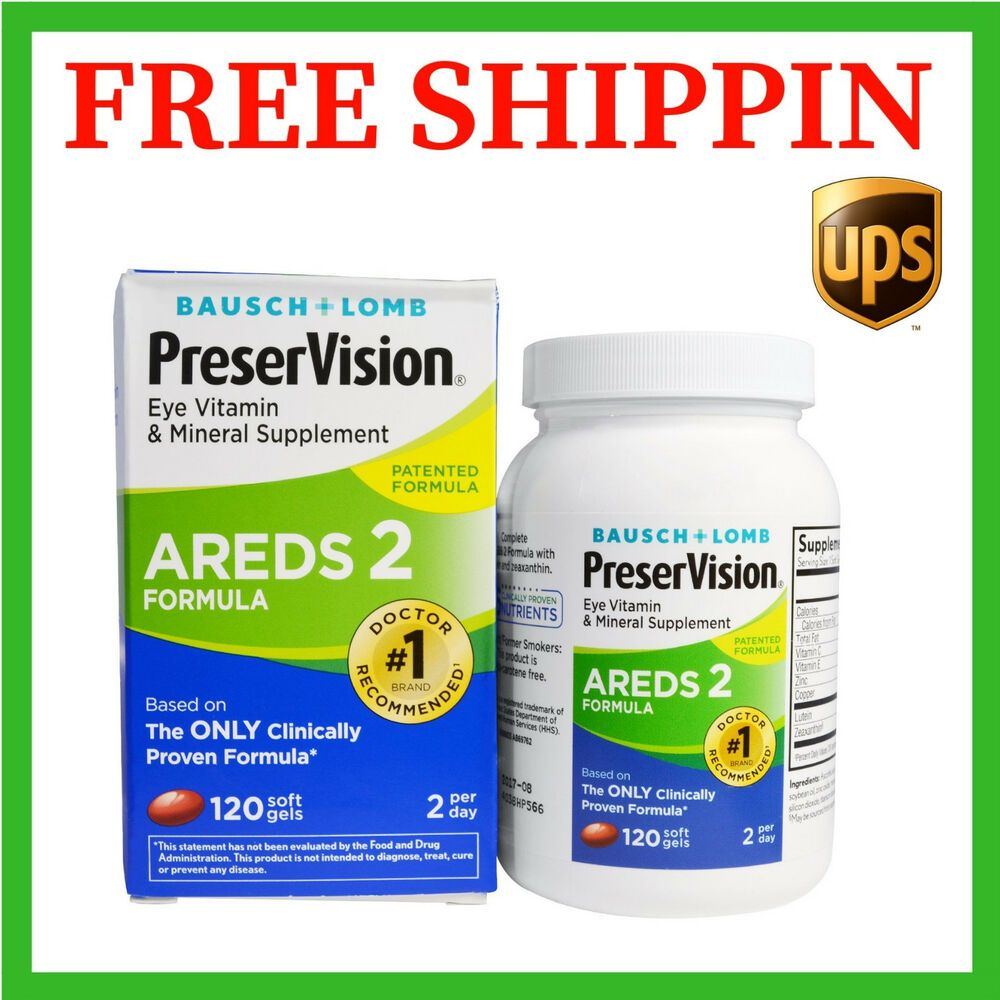 Preservision Areds 2 Formula Builds On The Original Clinically Proven Preservision Areds Formula With Lutein And Zeaxanthin Replacing Beta Carotene Based On T