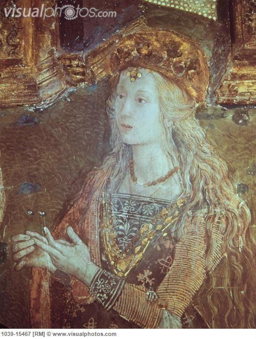 Lucrezia Borgia by Pintoricchio