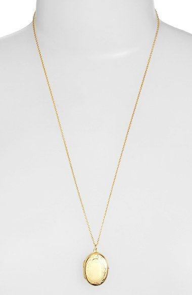 Argento vivo small oval locket pendant necklace available at argento vivo small oval locket pendant necklace available at nordstrom aloadofball Images