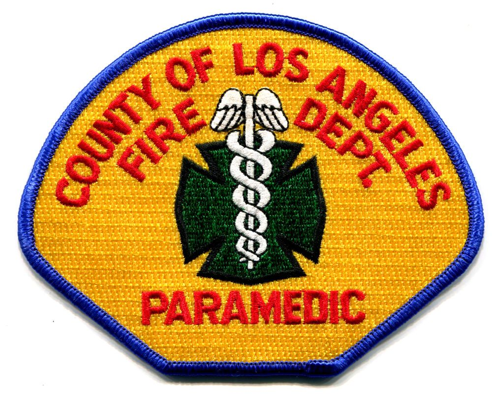 CALIFORNIA LOS ANGELES COUNTY FIRE DEPARTMENT