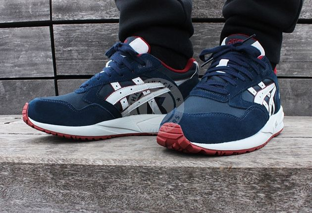 navy blue asics sneakers