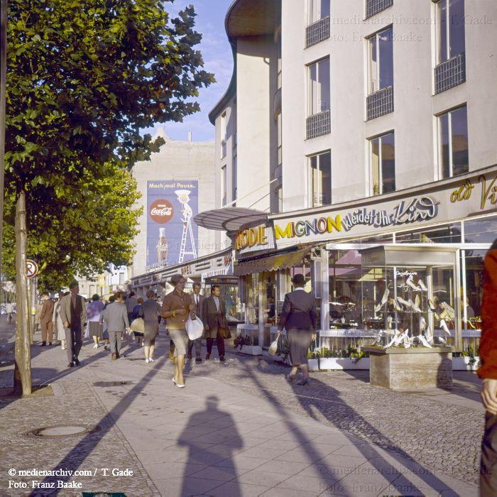 Berlin Charlottenburg Kurfuerstendamm 1960 Berlin Berlin Stadt Deutschland Germany
