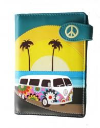 Small Purse: Various music vintage Shagwear Ladies Wallet campervan