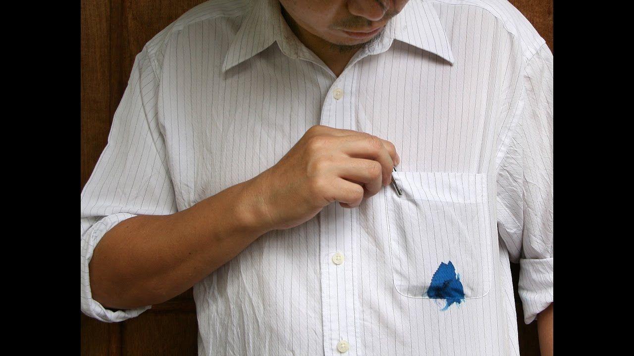 ازالة الحبر من الثوب المغسول Ink Stain Removal Keep It Cleaner Tongue Cleaner