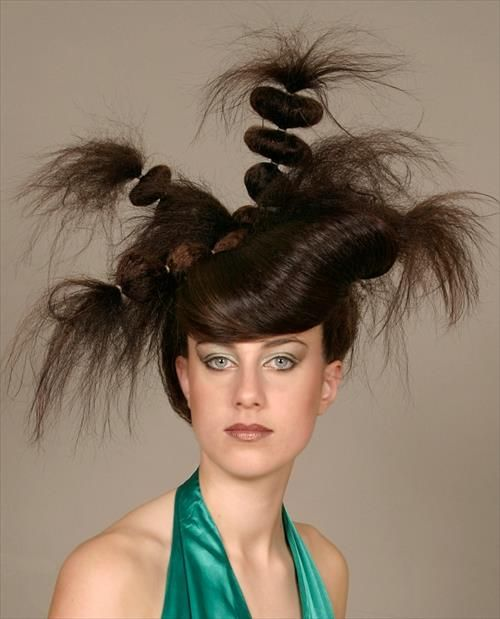Unique Strange Hairstyles Ideas For Girls Hair Trends 2014 Hair Styles Crazy Hair Days Hair Humor