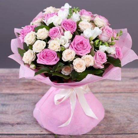 розы фото букет с днем рождения