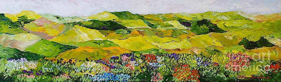 Soft And Lush Painting by Allan P Friedlander