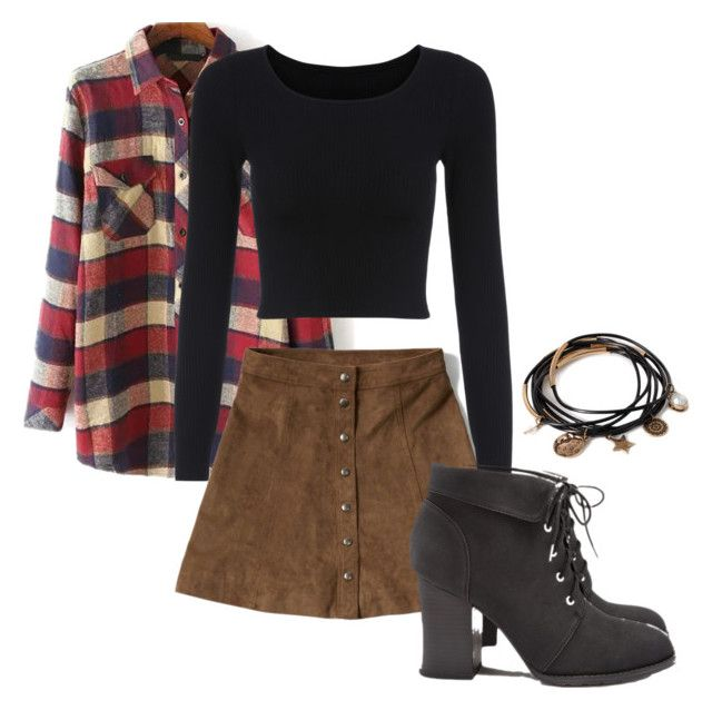 """""""Grunge 2"""" by arabellas-outfits ❤ liked on Polyvore featuring Abercrombie & Fitch and Forever 21"""