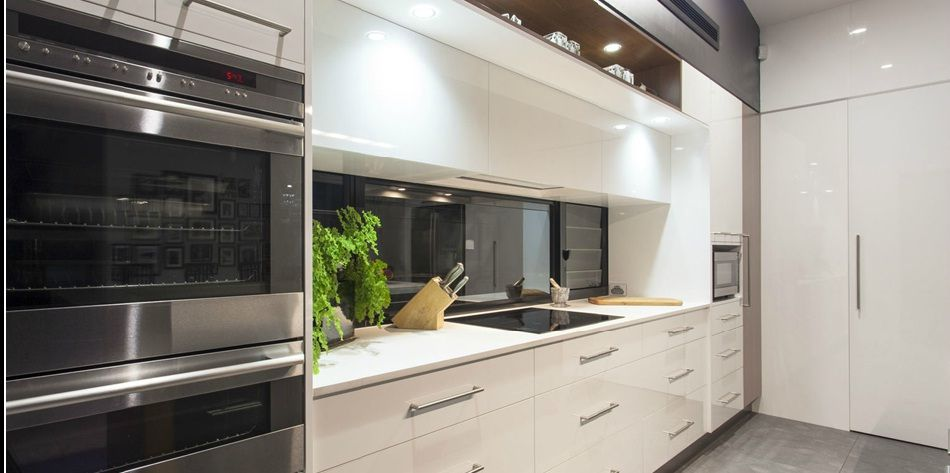 Slab Cabinets   Domain Cabinets Direct, Inc. Slab Cabinets Offer A Sleek,  Modern Look, And Can Fit Well With Any Style Of Kitchen.