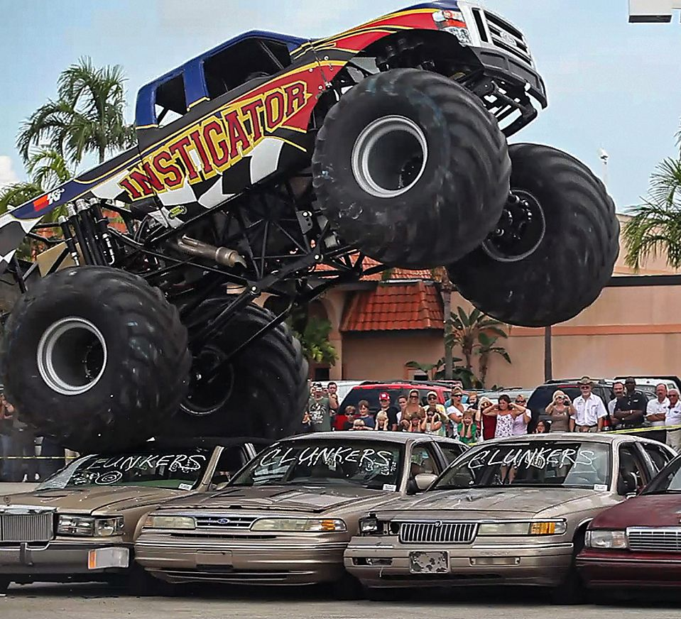 The Optima Sponsored Horsepower Shocker Monster Truck