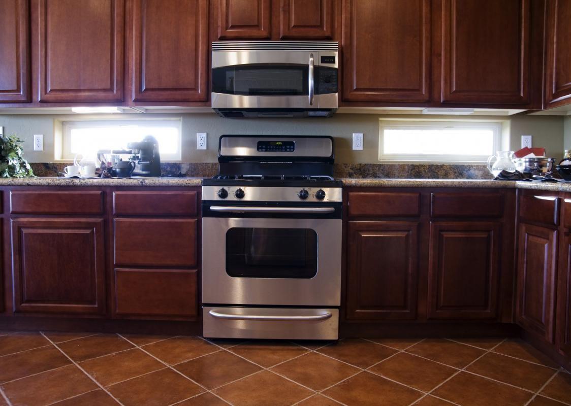Dark Mahogany Kitchen Cabinets | Kitchen Exhaust Ideas | Pinterest ...