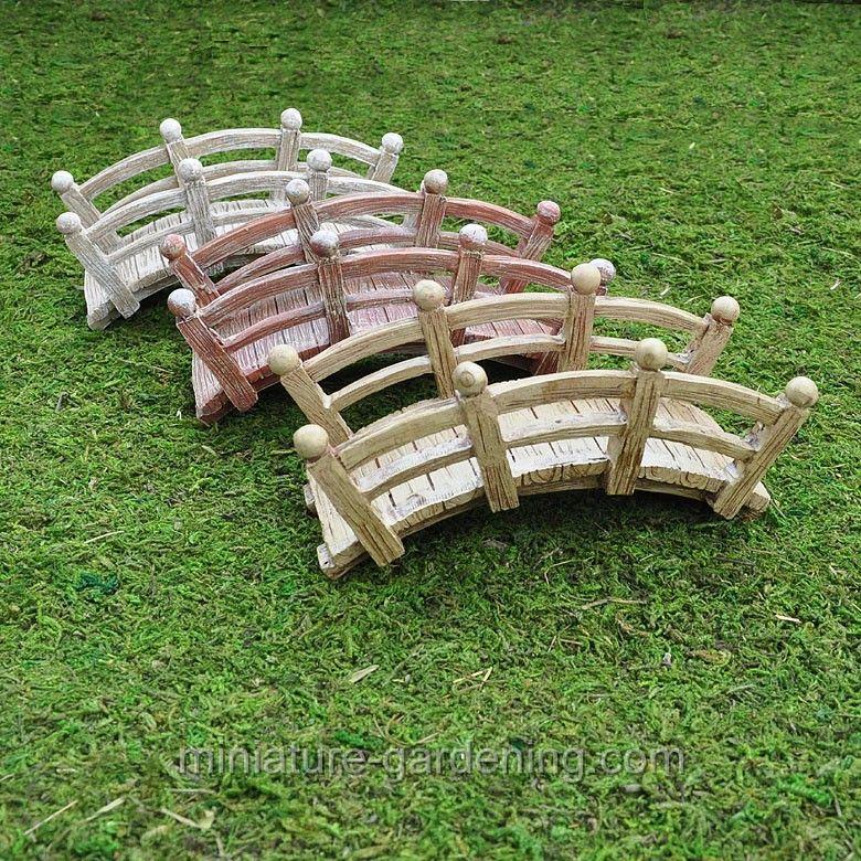 Mini Arched Bridge Fairy garden furniture, Fairy garden