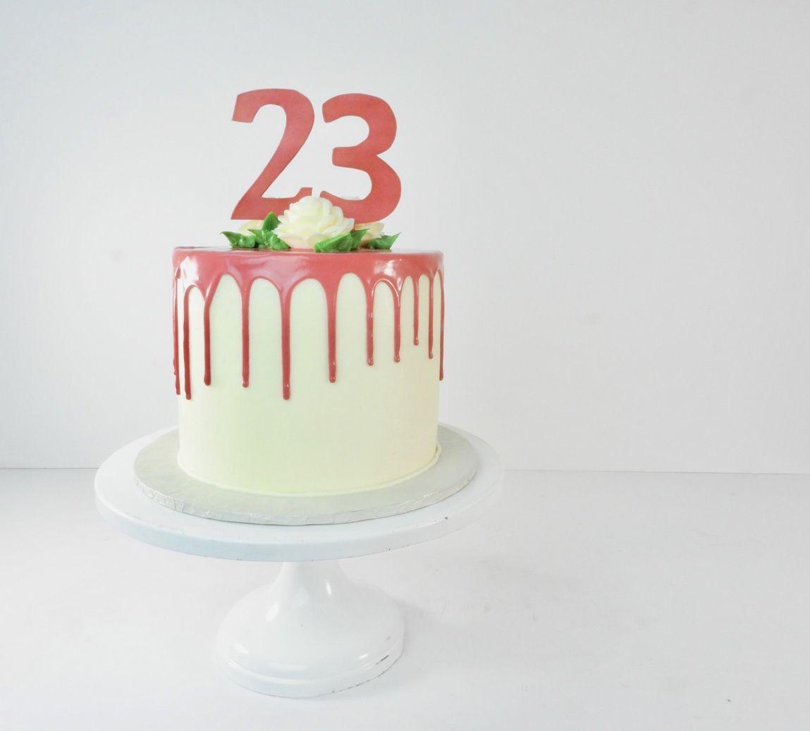 Phenomenal Drop On Point Classic Cake Cake Designs Cake Birthday Cards Printable Inklcafe Filternl