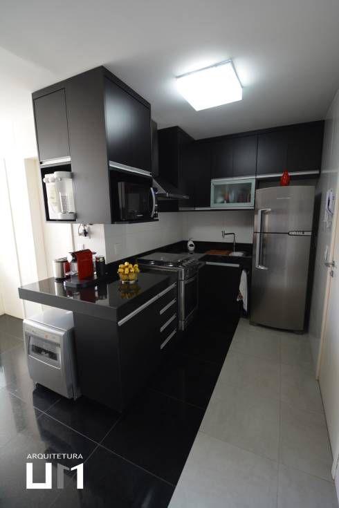 10 ideias para decorar cozinhas pequenas Cocina pequeña, Estilo - cocinas pequeas minimalistas