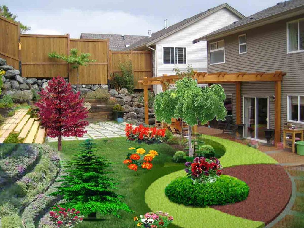 Terraced Sloped Backyard | http://i277.photobucket.com/albums/k ...