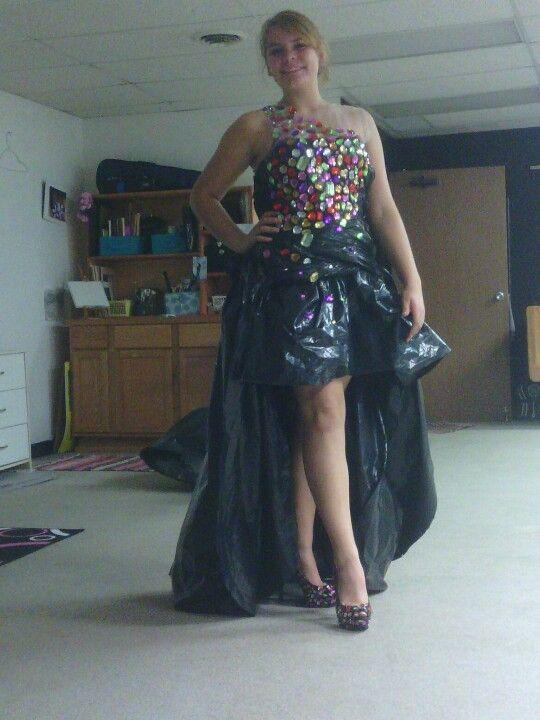 Trash Bag Dress Diy Amp Crafts That I Love Trash Bag