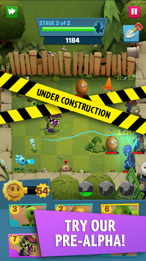 Plants Vs Zombies 3 Revealed Pre Alpha Version Playable Now In