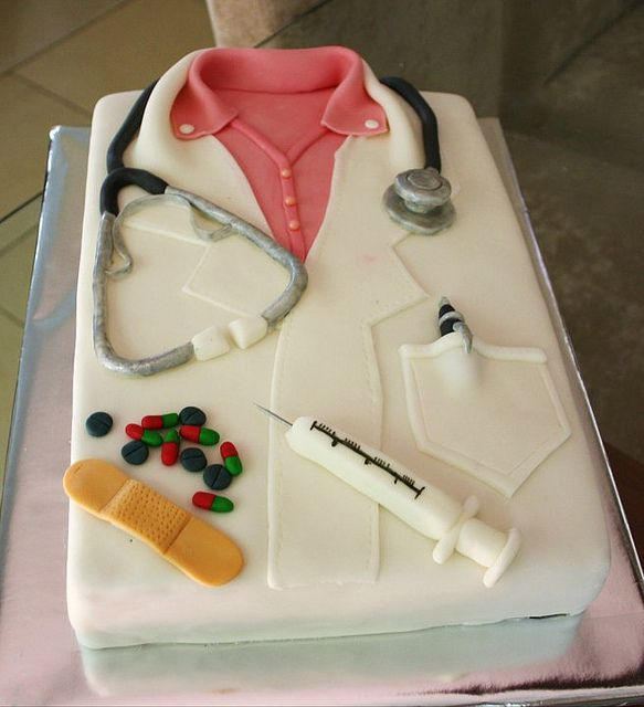 Doctor Cake Occupation Cakes Pinterest Doctor Cake Cake And