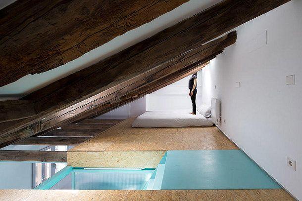 12x Vliering Inspiratie : Vliering design klein appartement