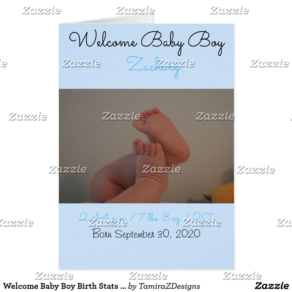 New Born Baby Boy Birth Card Blue Congratulations Rattle