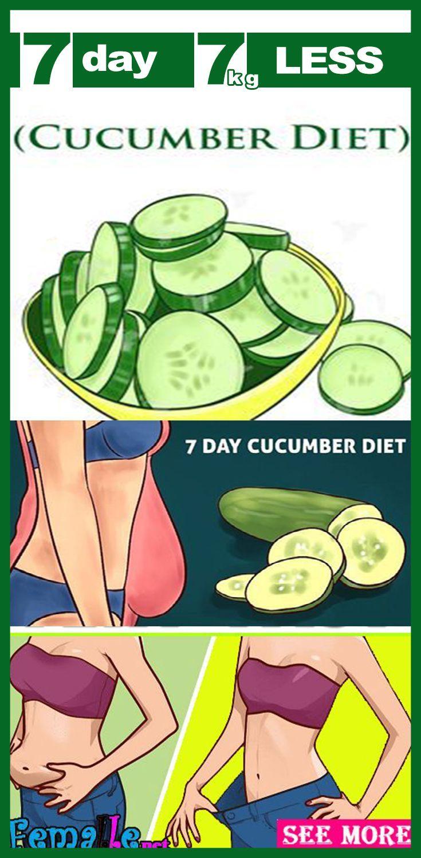 Cucumber diet (7 days)