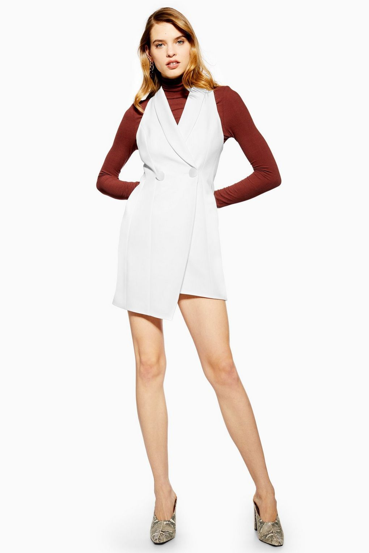 Tuxedo Dress Dresses Clothing Topshop Usa Womens Tuxedo Dress Tuxedo Dress White Tuxedo Dress [ 1530 x 1020 Pixel ]