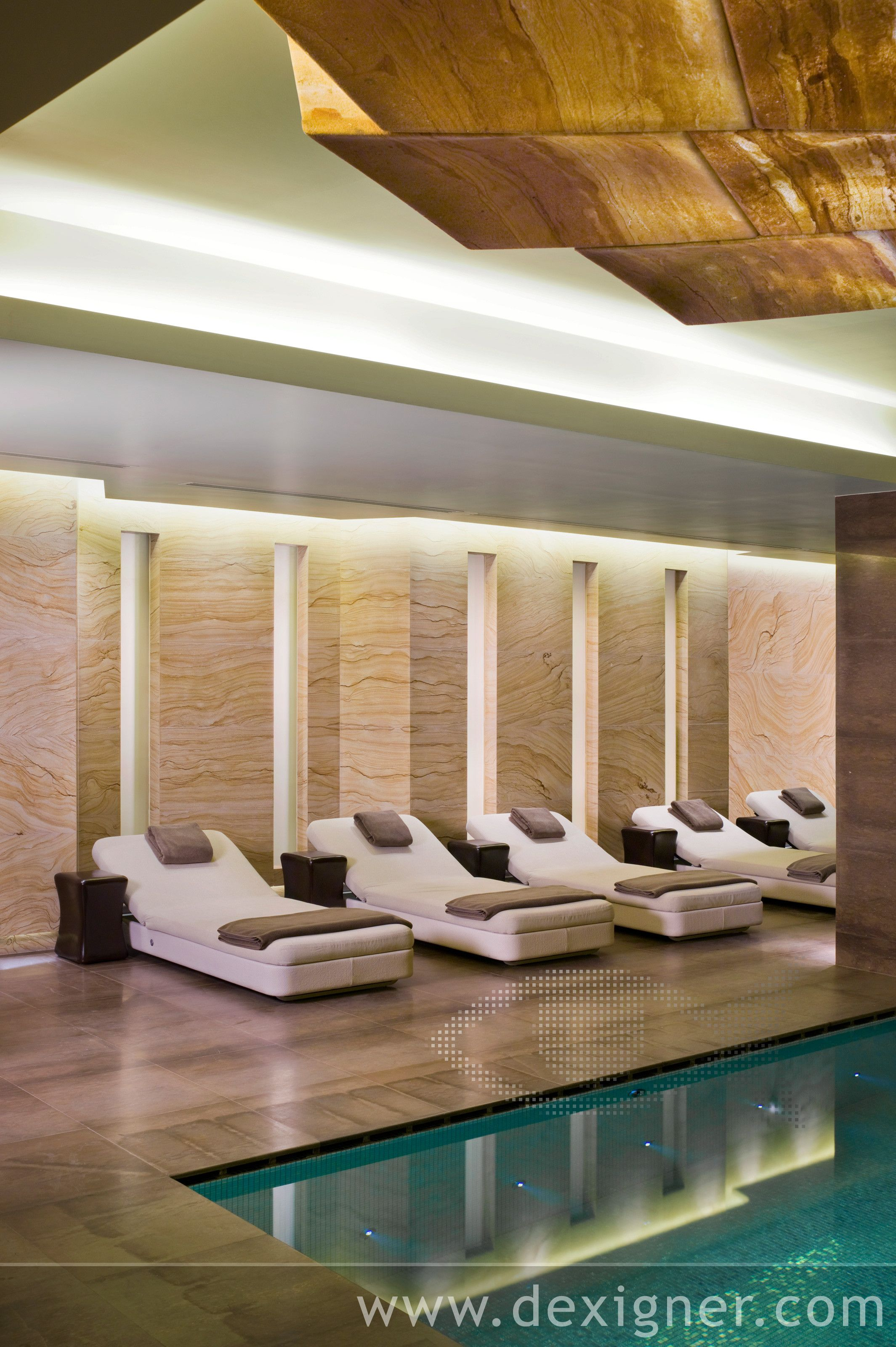 Hirsch bedner associates hba espa spa located in the istanbul edition hotel