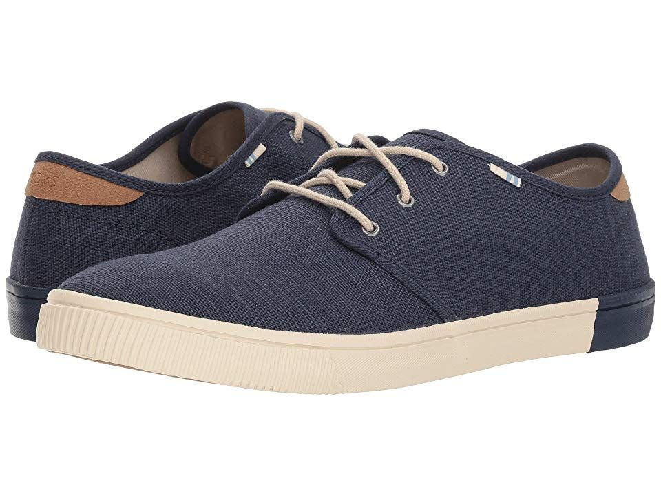 90dc59dcdd0 TOMS Carlo (Oceana Heritage Canvas) Men s Lace up casual Shoes. With every  pair of shoes you purchase TOMS will give a new pair of shoes to a child in  need.