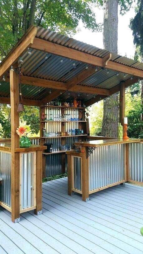 Backyard Patio, Patio Bar Designs Pictures