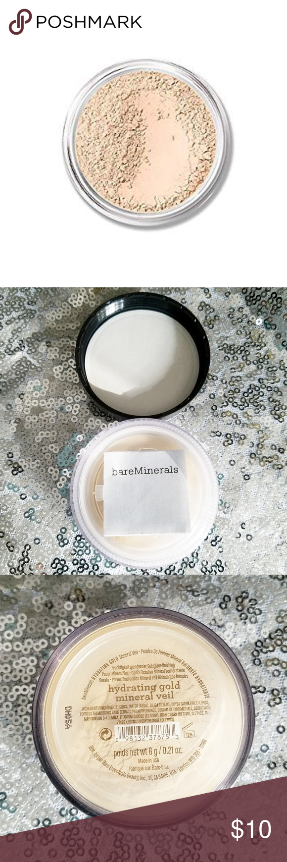 bareMinerals Hydrating Gold Mineral Veil Mineral veil
