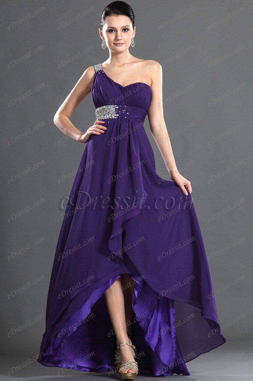 eDressit Maravilloso Solo Hombro Vestido de Fiesta Largo | vestidos ...